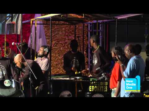 Antigua Carnival 2013: Panorama: Cool & Smooth Ebonites Steel Orchestra