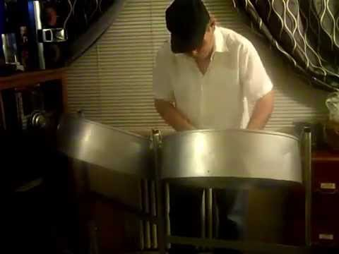 Hymne A L'Amour (Hymn to Love) played by Bede Lopez on Steel Pan