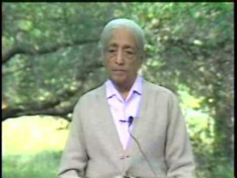 J.Krishnamurti society and consciousness