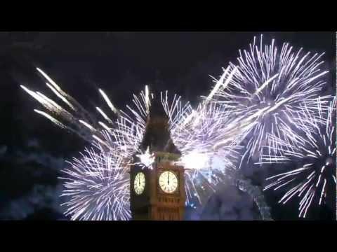 Buon Capodanno 2014! Auguri di Felice Anno Nuovo! Video Romantico. Canzone Auld Lang Syne by Sissel