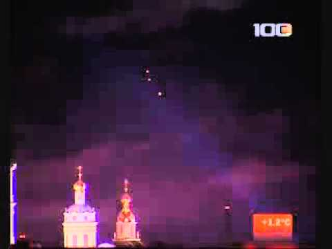 UFO over Russian Cathedral 2011 March 23, 2011
