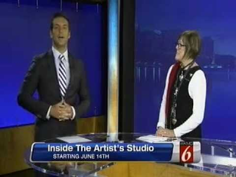 In the Artist's Studio Interview with Donna Dowless on WKMG-TV, CBS in Orlando, FL,