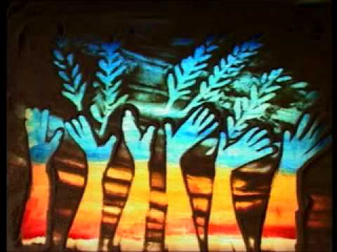 Sand Art Worship Painting