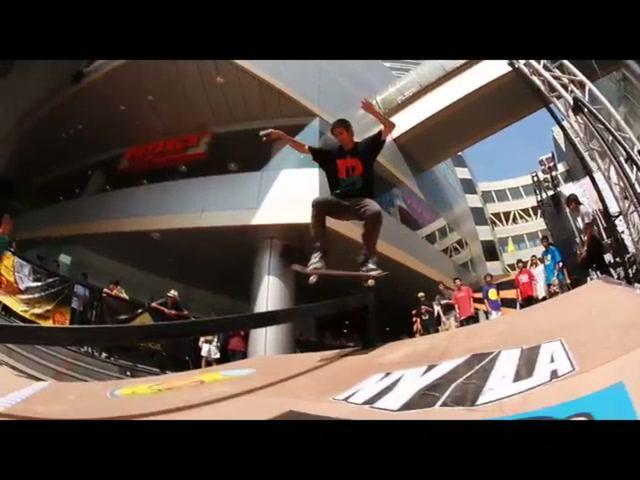 NYLA Skate Fiesta  / BKG edit