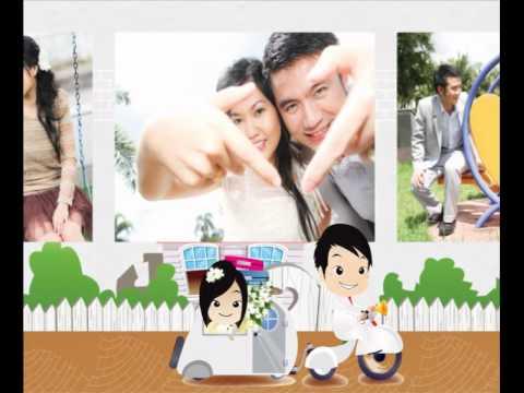 Animation wedding