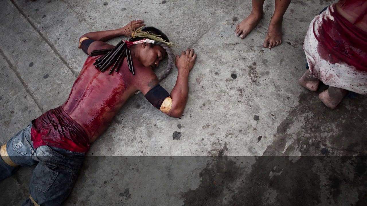 Easter Multimedia - Crucifixion in Philippines - For publication
