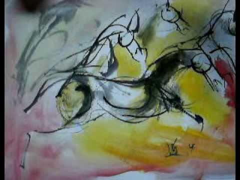 draw horses with MV