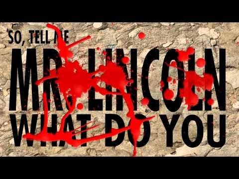 Kinetic Typography : Abraham Lincoln Vampire Hunter