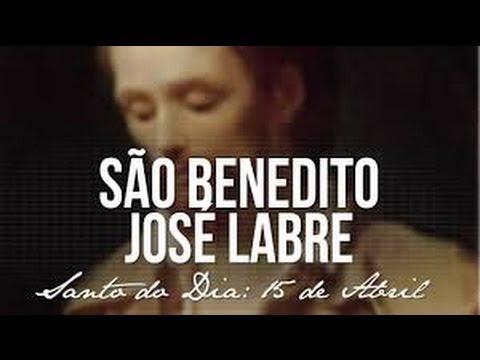 Santo do dia 16  ABRIL São Benedito José Labre, enriqueceu a Igreja com sua pobreza theraio7