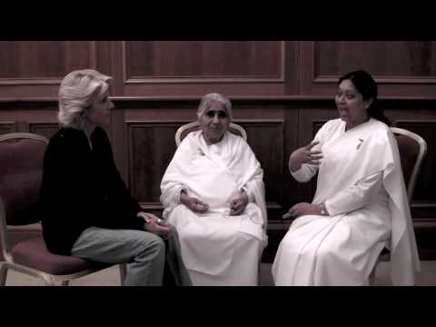 Gabriella Guglielminotti Trivel's interview with Dadi Janki, head of the Brahma Kumaris