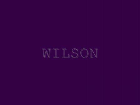 WILSON - YES