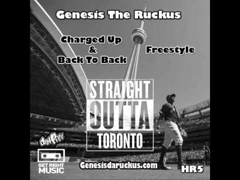 Ruckus Straight Outta Toronto - Montreal. Full CDQ (Diss)