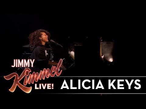 Alicia Keys Performs 'Illusion of Bliss' On Jimmy Kemmel Live