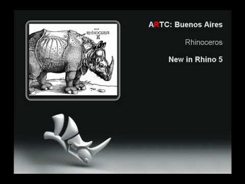 Rhino 5.0: Hatch with History