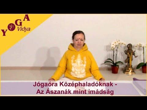 Jógaóra Középhaladóknak 2 - Intermediate-level yogaclass in hungarian