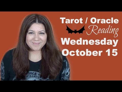 Free Tarot Oracle Reading for Wednesday, October 15