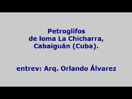 Entrevista: Semejanzas petroglifos de La Chicharra