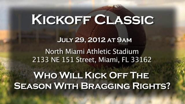 YOUTH FOOTBALL KICK OFF CLASSIC