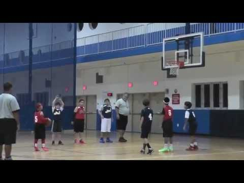 KJ FARFAN TOP 2ND GRADE BASKETBALL PLAYER GOES AGAINST 4TH GRADERS