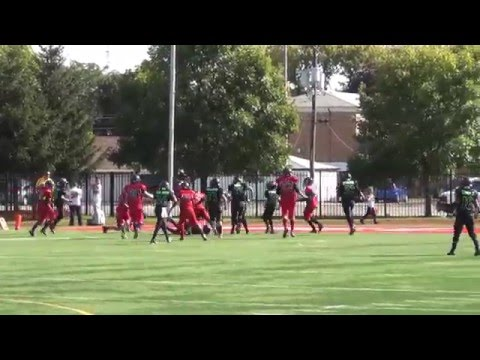 James Cooper Jr. 10 yr old qb season Highlights 2013