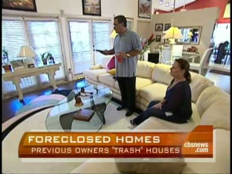 Foreclosed Homes Needing Trashouts