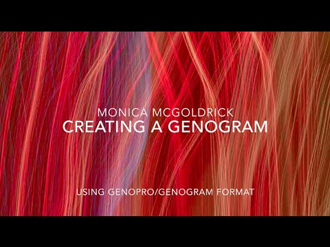 Creating a Genogram in 4 minutes using GenoPro