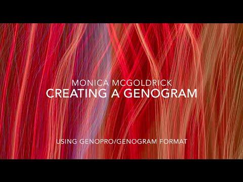 Creating a Genogram in 4 minutes using GenoPro
