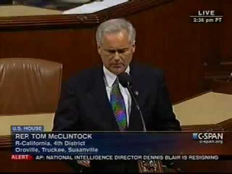 REP TOM MCCLINTOCK CALLS OUT MEXICAN PRESIDENT