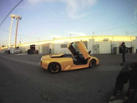 The Lambo Shoot