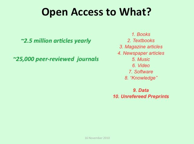Scholarly/Scientific Impact Metrics in the Open Access Era