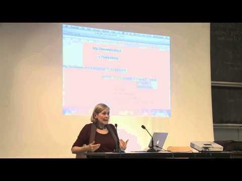 Diamond open access - conférence sur le libre accès - Marie Farge  ENS - 6/05/2014