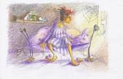 witch Maryčára for new children book