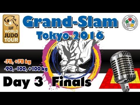 Judo Grand-Slam Tokyo 2016: Day 3 - Final Block