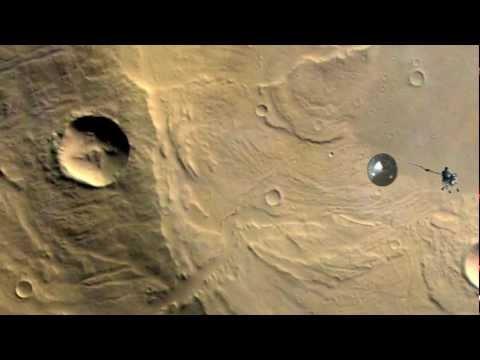 Curious Mars Landing
