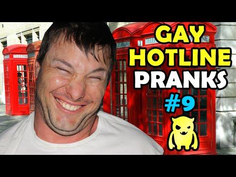 Gay Hotline Prank Compilation #9 - Ownage Pranks