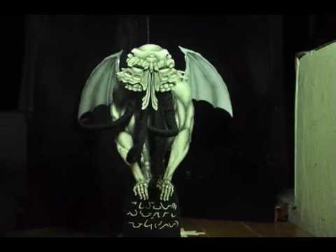 cthulhu stopmotion test
