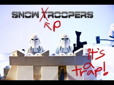 Lego Snow Pooper (*trooper).......iT's A TRaP!