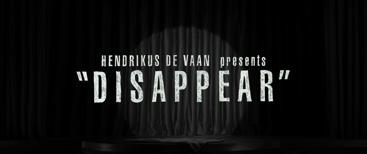 """DISAPPEAR"" - A stop motion film by Hendrikus De Vaan"