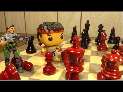 Does anyone have tips to improve my animation skills? (Chess VS. Toys)