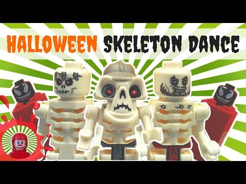 Halloween Lego - Skeleton Dance