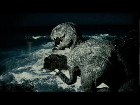 Stop Motion Dinosaur Ocean (Stop Motion/Live Action Test)