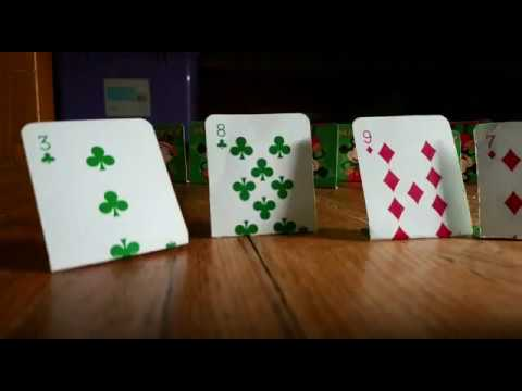 Just saw my  playing cards try to kill one of my toys! |Stop motion 2nd video!