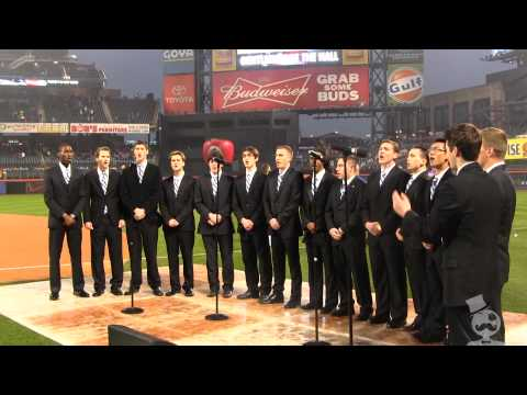 National Anthem - Mets vs. Reds at Citi Field - Gentlemen of the Hall