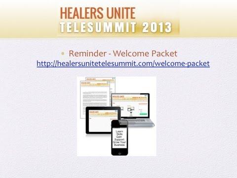 First Q&A Healers Unite TeleSummit 2013