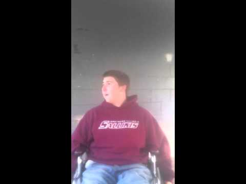dippin in a wheelchair omg funny