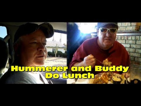 Hummerer and Buddy Do Lunch