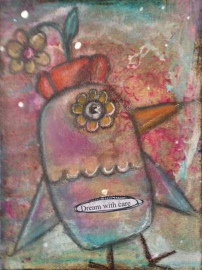 Quirky Bird Series - 4
