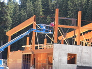 Silver Fir Lodge coming along nicely!