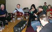 Irish Music session in Sydney,Australia, 2007