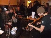 Fiddling at the pub!